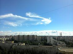 Голубое небо над Питером