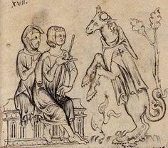 Fauvain refuse de payer.; il s'est tonsuré et déguisé en pèlerin-croisé de Saint-Jean-de Jérusalem pour apitoyer la justice.