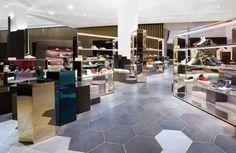 Level Shoe District – Mens Department by Shed., Dubai – UAE » Retail Design Blog