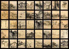 Hopfgarten Im Brixental, Decoupage Glass, Woodblock Print, Drawing S, Kunst