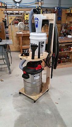 Dust Deputy Utility Cart