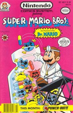 Nintendo Comics System featuring Super Mario Bros, introducing Dr Mario