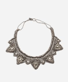 La Luna Necklace - Noonday Collection || Add that glam. This jewelry was #handmade, #FairTrade, in Guatemala. Your purchase empowers men and women, allowing them to provide for their families. Find more products at @philorgs.