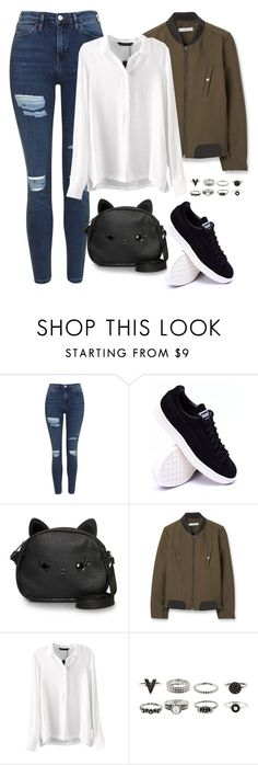 """""""First time meeting Zico"""" by berrie95 on Polyvore featuring Topshop, Loungefly, MANGO, blockb and Zico"""