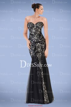 Gorgeous Sweetheart Prom Gown Featuring Lace Overlay and Beaded Accents, Quality Unique Prom Dresses Unique Prom Dresses, Strapless Dress Formal, Formal Dresses, Lace Overlay, Ball Gowns, Black, Fashion, Fitted Prom Dresses, Moda