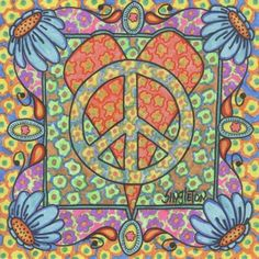 Peace, Love, and Poppies, Singleton Hippie Art, The Print Hippie Peace, Happy Hippie, Hippie Love, Hippie Art, Hippie Things, Hippie Chick, Boho Hippie, Boho Gypsy, Hippie Style