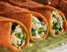 Recipes Crispy Tortilla Roll with Maseca® Mexican Food Recipes, New Recipes, Dinner Recipes, Cooking Recipes, Group Recipes, Ethnic Recipes, Gluten Free Cooking, Gluten Free Recipes, Maseca