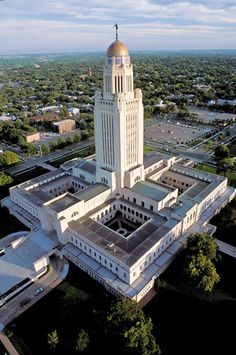 Lincoln, Nebraska.  Nebraska's Capitol City.
