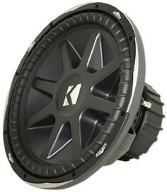 "Kicker 10cvx15-4 Ohm Round 15-Inch Subwoofer by Kicker. $234.99. Brand new Kicker 10CVX15-4 Ohm Round 15"" subwoofer with 2,000 watts peak and 1,000 watts RMS Features: Kicker 10CVX15-4 15"" Comp VX Dual 4 ohm version New and improved cone and front plate - takes some of the technology as the Solo X Loudest series of round subs ever made by kicker!! Uses similar technology to its big brother (the L7 series) Higher Sound Quality than the L7 New cone technology New Fron..."