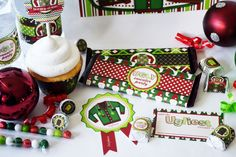 Ugly Christmas Sweater Party Printable Bundle, includes 23 different printables to help make your Ugly Sweater Party even more specatcular!