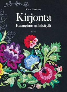 Latvialainen palmikko | Meillä kotona Scandinavian Embroidery, Swedish Embroidery, Silk Ribbon Embroidery, Crewel Embroidery, Embroidery Designs, Embroidery Books, Textiles, Scandinavian Design, Folk Art