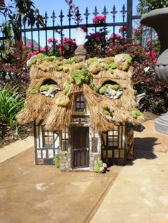 Fairytale Cottage Dollhouse Out of a Storybook. Cinderella Moments.
