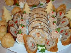 Cold Dishes, Special Recipes, Holidays And Events, Meat Recipes, Sushi, Shrimp, Food And Drink, Blog, Chicken