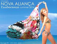 Estampa criada para coleção Verão 2016 Nova Aliança (estampas e publicidade)