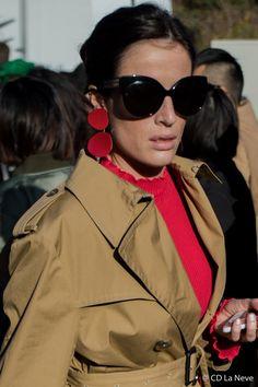 Chloe Street Style Paris Fashion Week FW17