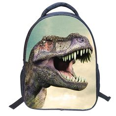 ANNY   Cartoon Jurassic Park Theme Children Backpacks,13 Inch Dinosaur Printing School Bags For Kids , Cool Boy & Girl Rucksacks-in Backpacks from Luggage & Bags on Aliexpress.com | Alibaba Group