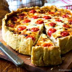 Easy Delicious Recipes, Yummy Food, Quiche Lorraine, Finnish Recipes, What You Eat, Cooking Recipes, Cooking Ideas, Relleno, Bacon