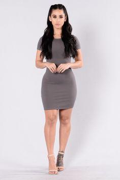 Love This Beat Dress - Dark Mocha