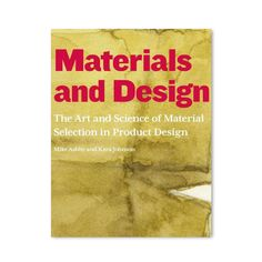 Materials are the stuff of design. From the very beginning of human history, materials have been taken from the natural world and shaped, modified, and adapted for everything from primitive tools to modern electronics. This renowned book by noted materials engineering author Mike Ashby and industrial designer Kara Johnson explores the role of materials and materials processing in product design, with a particular emphasis on creating both desired aesthetics and functionality.