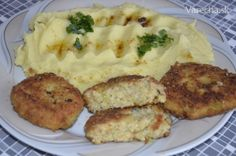 Kelové fašírky II - Recept Mashed Potatoes, Ale, Chicken, Meat, Ethnic Recipes, Food, Whipped Potatoes, Smash Potatoes, Eten