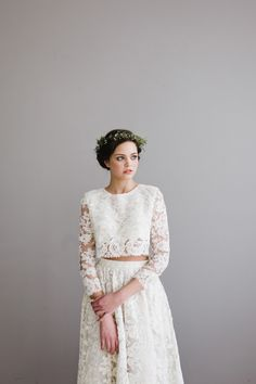 Perfect for the Bohemian Bride. Find silk and preserved flowers at Afloral.com to DIY your floral crown.