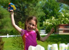 Summer Fun with Kids -- Water Pistol Target Range - Inner Child Fun