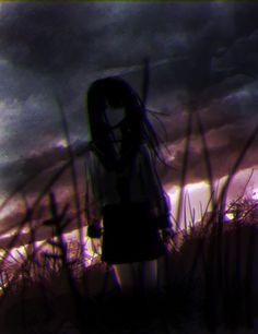 Сумасшедшая Sad Anime Girl, Kawaii Anime Girl, Anime Art Girl, Manga Girl, Yandere Manga, Manga Anime, Yuumei Art, Anime Triste, Gothic Anime