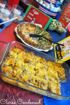 Easy Sausage and Egg Breakfast Casserole (replace hash browns w shredded rutabaga or turnip)