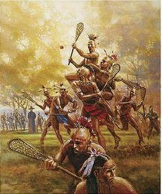 Native American LaCrosse.