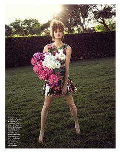 la boda de mi mejor amiga: daniela kocianova by sebastian briech for grazia spain 19th june 2013 #fashion #photography