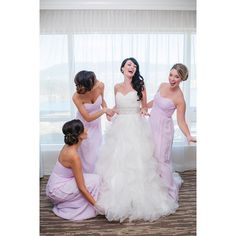 fabulous vancouver wedding These beauties are the best of friends. It was just the sweetest watching them all together, so much love in that room. Excited to share this gorgeous wedding photographed by @blushwedphotos and filmed by @kismetcreative. #Makeup & #Hair for the stunning @misspink8 by Principal Stylist Danielle and assisted by Lead Stylist Andrea. #alldolledupmakeupandhair...