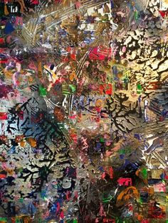 One Thousand Years of Beauty 2017 Acrylic on Wood Panel Lainard Bush Mixed Media Artwork, Mixed Media Collage, Color Palate, Wood Paneling, Contemporary Artists, My Images, Paper Art, Abstract Art, Christmas Tree