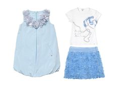 Azure also for Miss Grant Couture spring summer 2013  collection, the bon ton line of Miss Grant.  #azure #missgrant #SS13 #spring #summer #springsummer2013 #children #kids #childrenwear #kidswear #girls
