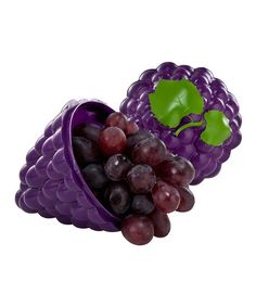 This Purple Grape To-Go Container is perfect! #zulilyfinds