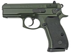 CZ P01 9mm Pistol 3.8in OD Green Polycoat, with NSN # on Frame, 14 Round 3.8 Rubber Grip Fixed Sights **KyGunCo Exclusive**
