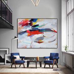 Handmade Extra Large Contemporary Painting Huge by CelineZiangArt  #buyart #cuadrosmodernos #art