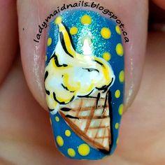 Lady Maid Nails: Dragon Claw Polish, Ice Cream Nails