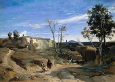 Maestros del paisaje: Jean-Baptiste Camille Corot   Trianarts