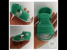 Children and Young Crochet Baby Sandals, Crochet Shoes, Crochet Baby Booties, Love Crochet, Knit Crochet, Kids Socks, Baby Socks, Crochet Stitches, Girls Shoes