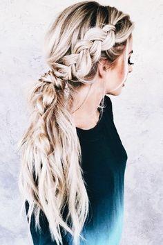Hair Styling | Hair Ideas | Blonde Hair Tutoriasl | Braids