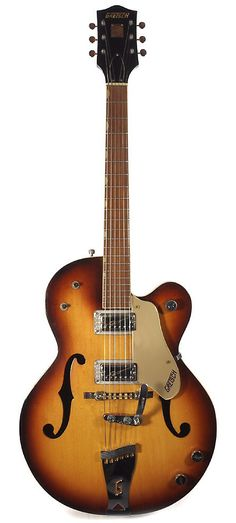 GRETSCH Double Anniversary 1962 Sunburst | Chicago Music Exchange