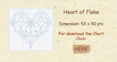Madame La Fée - Free Chart Heart of Flake