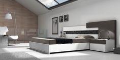DORMITORIO 12. Dormitorio modular de 286 cm de ancho.