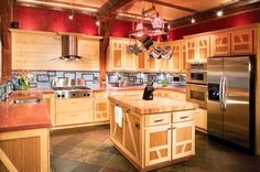 412 best western kitchens images in 2019 future house log homes rh pinterest com