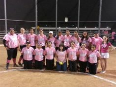 Casa Grande High School Softball in Casa Grande, AZ.  #SpiritWearShirts #gocougars