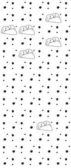Tapeta Polar Bears biała - Sklep Toto Design - tapeta Nina