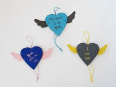 DIY Articulated Wings Valentine's Day Card by LA MAISON DE LOULOU