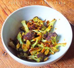 PURPLE SPICY CAULIFLOWERIngredients- ½ of purple cauliflower- 5 tablespoons extra virgin olive oil- Fresh ginger to taste- 1 teaspoon soy sauce- Juice of ½ lime- 1 teaspoon honey- 1 dried chiliCAVOLFIORE VIOLA PICCANTEIngredienti- ½ cavolfiore viola di Sicilia- 5 cucchiai di olio evo- zenzero fresco qb- 1 cucchiaino di salsa di soia- succo di ½ lime- 1 cucchiaino di miele- 1 peperoncino seccoDietro le quinteLava e taglia il cavolfiore a cimette. Prepara dunque la ...