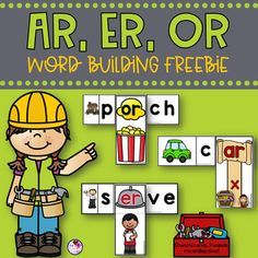 Let's practice our r-controlled vowels with some hands on fun! This free product has 12 word building cards and 3 word building wands for your students to build r-controlled vowel words. My students love this activity. R Controlled Vowels Activities, Vowel Activities, 1st Grade Activities, Speech Therapy Activities, Language Activities, Hands On Activities, Speech And Language, Language Arts, English Language
