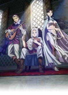 Arslan, Farangis y Gieve